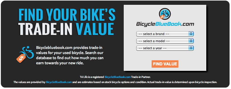 Bicycle Blue Book Trade In And Trade Up The Bicycle Blue Book